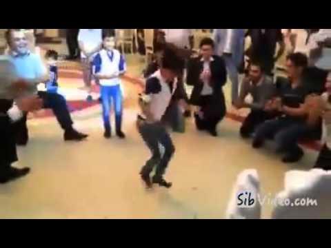 Boys dancing Azeri