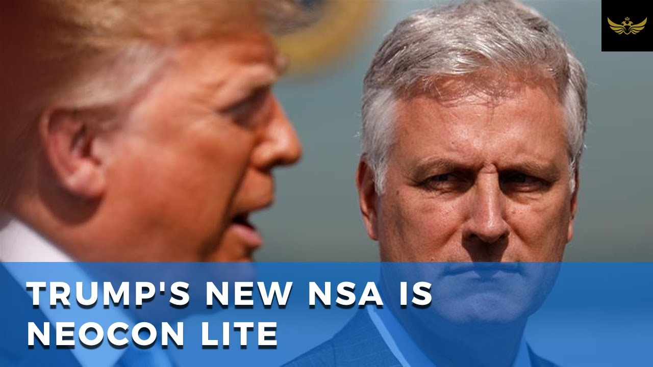 New NSA Robert O'Brien will give Trump more foreign policy control