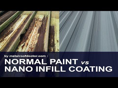 Metal Roof Coating Malaysia | Normal Painting Vs MRD Nano Infill Coating