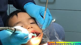 Toddler Going To The Dentist For The First Time