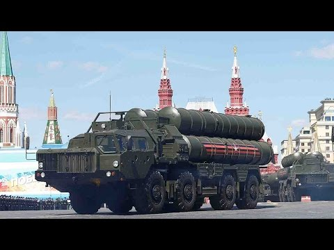 Russia rehearses military parade for Victory Day