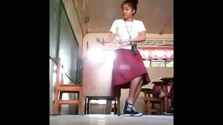 Twerk it like Miley Simple Pinay Student Dance Cover .