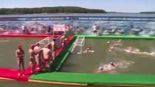 """Водное поло """"Желтобол"""", 19 июля 2014 (Спорт 360)"""