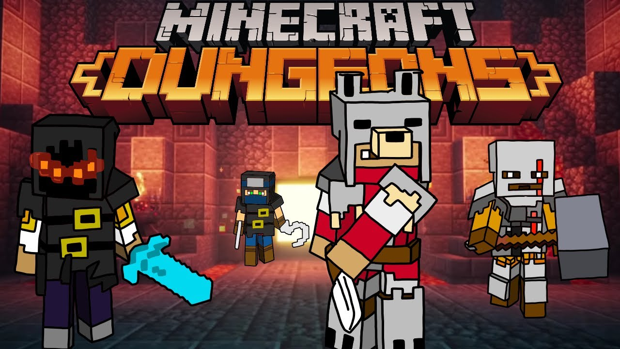 Minecraft Dungeons {PART 1} Why does are Blacksmith hate us so much?!?!