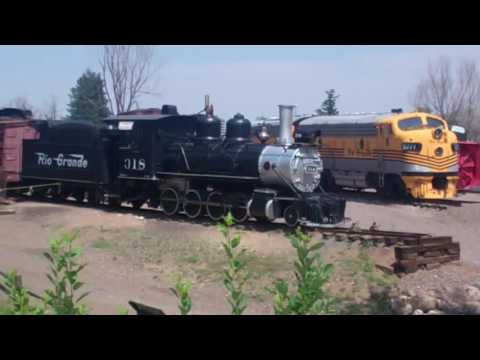 Highlights from the Colorado Railroad Museum Golden, CO 06/23/16
