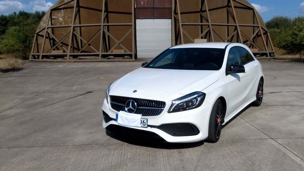 2016 Mercedes-Benz A180 AMG Line (122hp) 0-100 ...