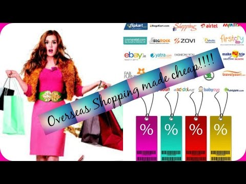 Shopping USA products from India in the cheapest way + How to find and use coupons!!!