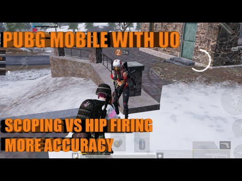 PUBG MOBILE ACCURACY!! HIP FIRING VS SCOPING!! THINGS TO IMPROVE ON!!