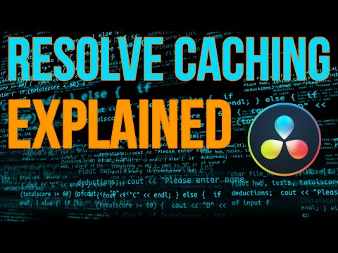 What Resolve Cache