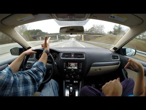 GoPro Hero 3+ Time Lapse - Driving through NC, SC, GA