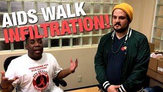 AIDS WALK: 1/4BlackGarrett Infiltrates! | Louder With Crowder