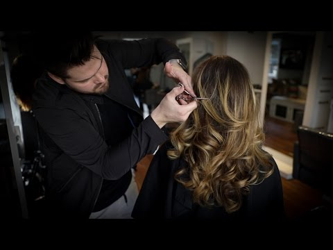 Long Layered Haircut Tutorial MATT BECK VLOG 99 YouTube