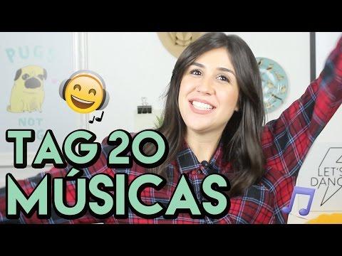 TAG: 20 MÚSICAS DA MINHA VIDA   Foquinha
