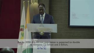H.E. President Alassane Ouattara Addresses the 2018 State of Education in Africa Conference
