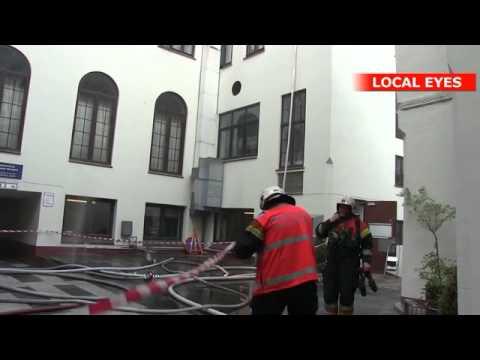 Brand i Hotel Randers - alle gæster evakueret