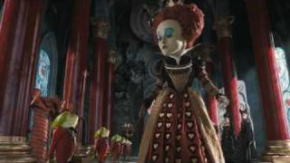 """Alice In Wonderland - """"Off With His Head"""" Clip (HQ)"""