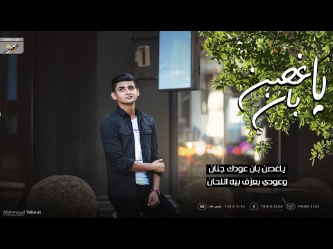 يا غصن بان - يحيي علاء (Lyrics Video) | Ya 8osn ban - Yahia Alaa