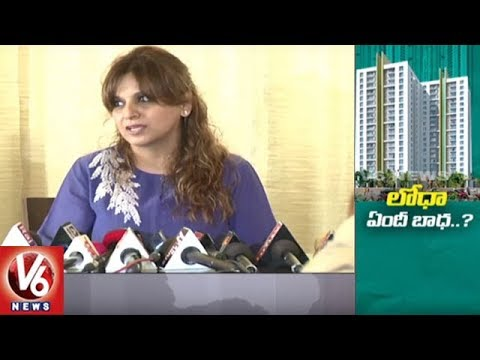 Lodha Builders Fraud : Community Customers In Concern | Hyderabad | V6 News
