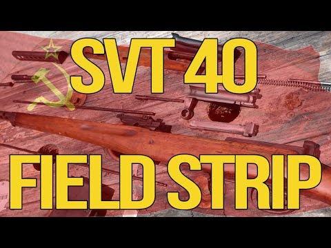 SVT 40 Tokarev Field Strip