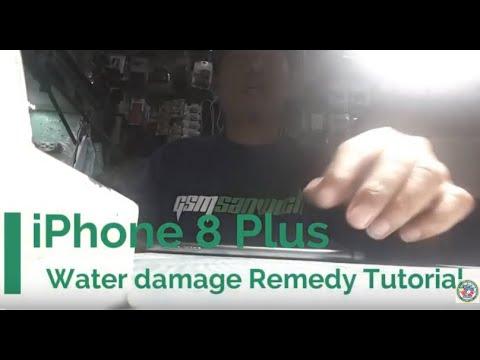 Apple iPhone 8 Plus Water Damage. DFU and 4013 Error