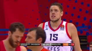 EuroLeague 18. Hafta: CSKA Moskova - Anadolu Efes