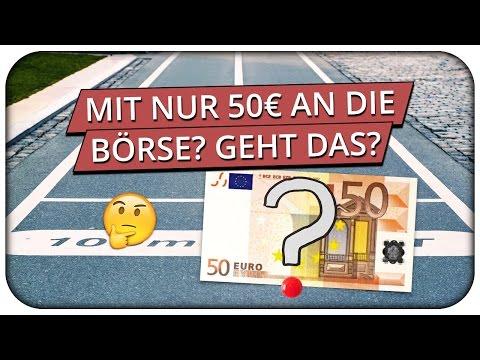 Börse Für Anfänger - Wie Kann Man Mit 50€ Investieren?