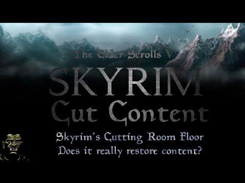 Skyrim's Cutting Room