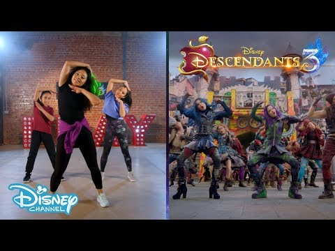 Descendants 3 | 'Good To Be Bad' Dance Tutorial ���� | Disney Channel UK