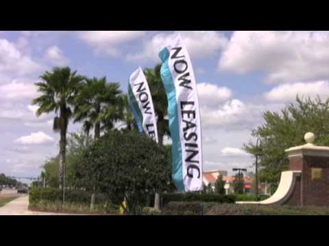Now Leasing Flags from High Impact Advertising
