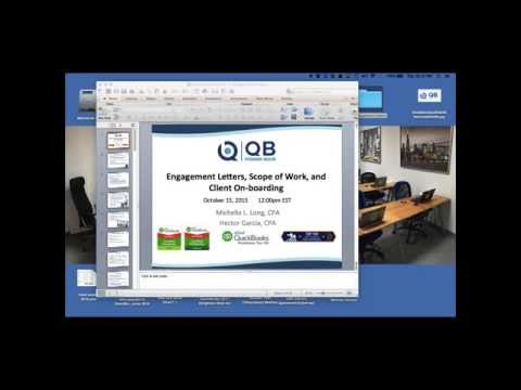 QB Power Hour - Engagement letters, value pricing, client onboarding + Practice Ignition