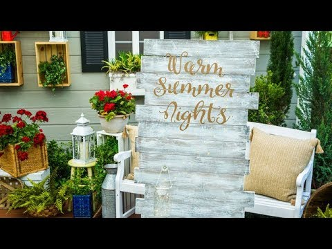Warm Summer Night Firefly Sign - Home & Family