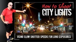 Photography Tips | How to photograph City Lights | FREE eBOOK