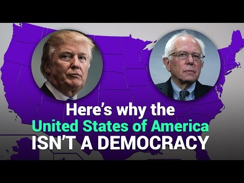 Here's Why the United States of America Isn't a Democracy