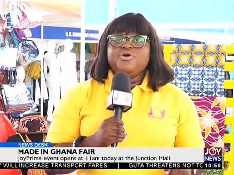 Made in Ghana Fair - Business Desk on Joy News (21-9-17)