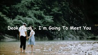 Deok Hwan (덕환) - I'm Going To Meet You with lyrics (Han/Rom) Korean Song