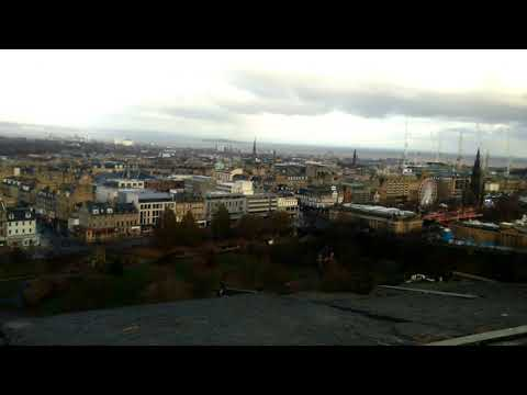 View Of Edinburgh City