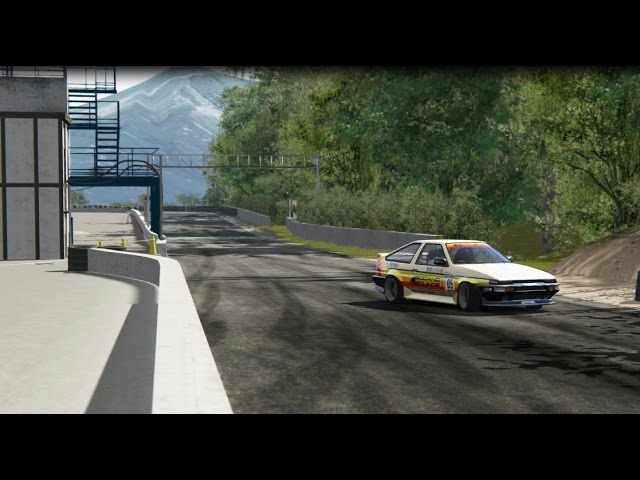 AE86 Drifting Sportsland Yamanashi | Assetto Corsa Japanese Car Pack