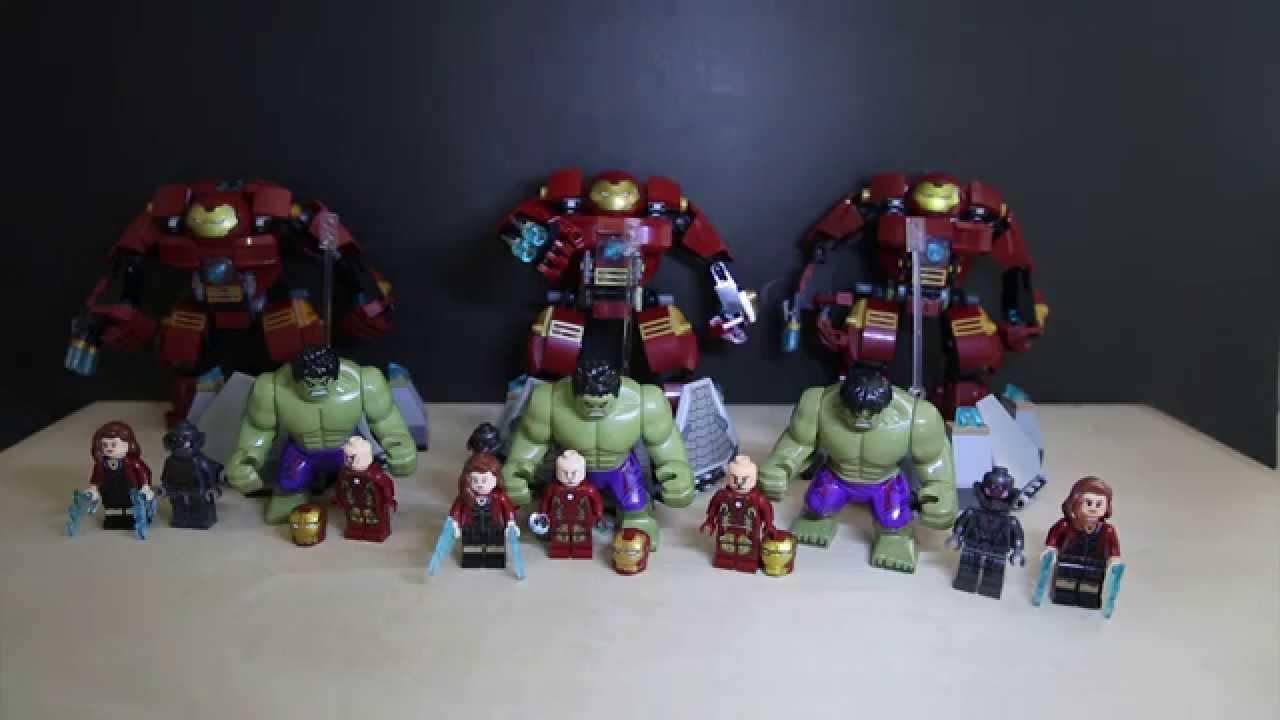 lego 76031 marvel superheroes the hulk buster smash lego vs sheng yuan vs lele comparision