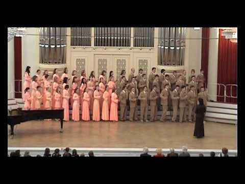 NNSU Academic Choir - I'm A Train (Grand Hall Of The Saint Petersburg Philharmonic)