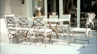 Outdoor Furniture New York Wrought Iron Patio Furniture For Timeless Beauty
