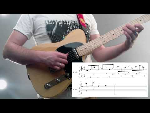 Jazz Fusion lick with tabs
