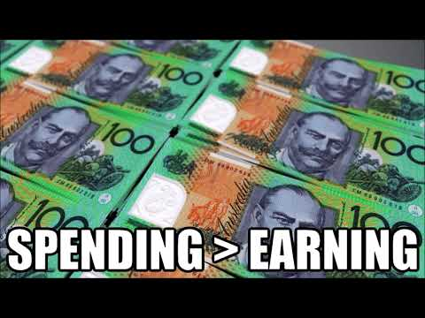 Australians Are Spending More Than They Are Earning