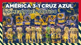 COLOR América 3-1 Cruz Azul Cuartos de Final IDA