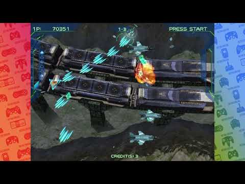 Zero Gunner 2 - Dreamcast Gameplay