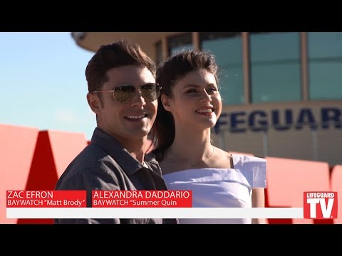 Baywatch Movie Australia Premiere - Zac Efron and Alexandra Daddario