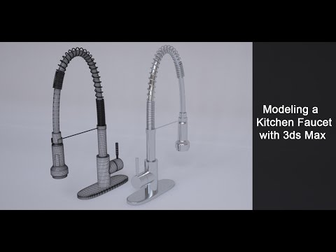 Modeling a Kitchen Faucet in 3ds Max Part 2