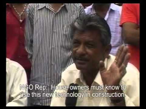 A documentary on Earthquake Safe construction adopted in Gujarat