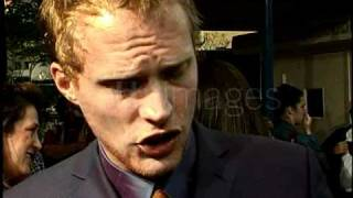 Paul Bettany at the A Knight's Tale Premiere