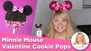Gambar cover Minnie Mouse OREO Cookie Pops | Disney Valentine Cookies