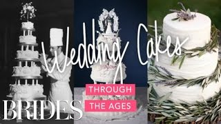 100 Years of Wedding Cakes | BRIDES